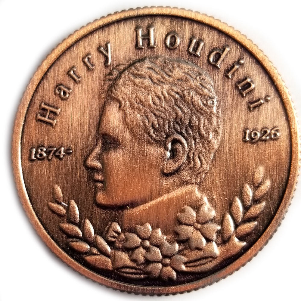 Collectable Houdini Coin (Silver/bronze)