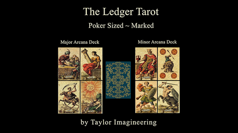 Ledger Major & Minor (2 decks and Online Instructions) Arcana Deck by Taylor Imagineering