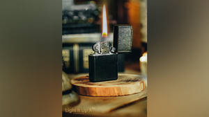 Limited Edition Light It Up X Alligator Black by SansMinds: PRE-ORDER