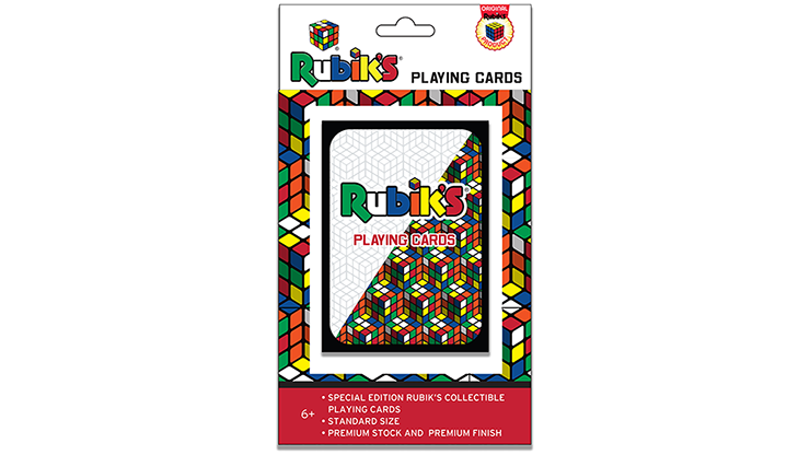 Rubik's Playing Cards