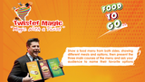 Food To Go 2.0 by George Iglesias and Twister Magic (Online only)