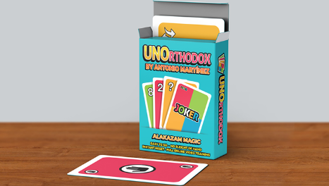 UNOrthodox (Gimmicks and Online Instructions) by Antonio Martinez (Online Only)