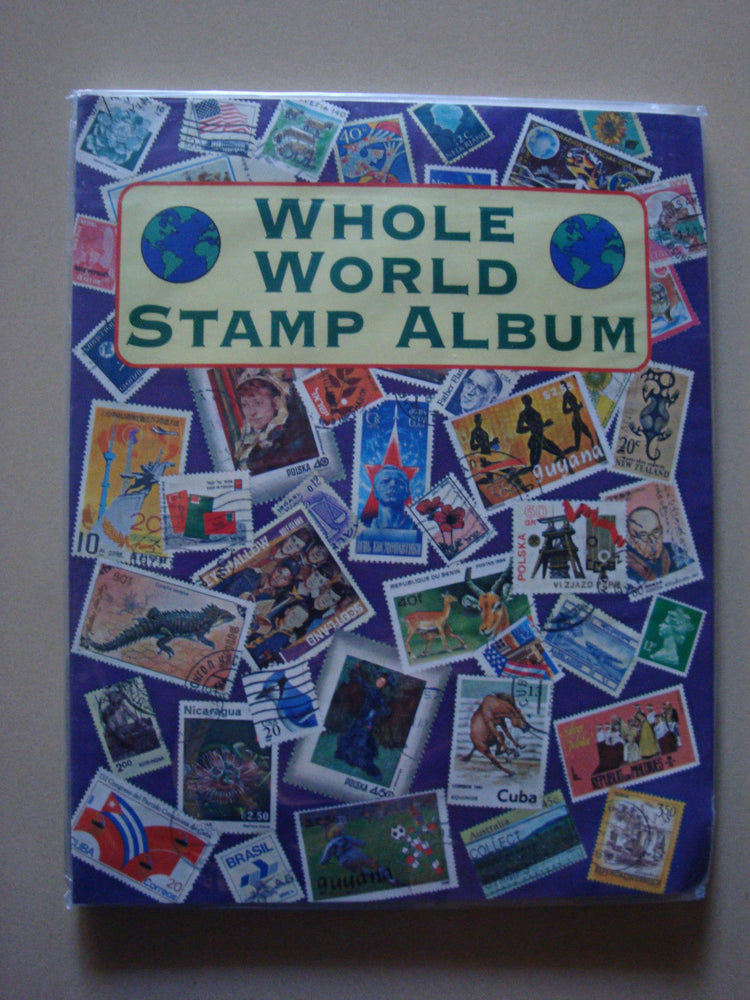 Whole World Stamp Album
