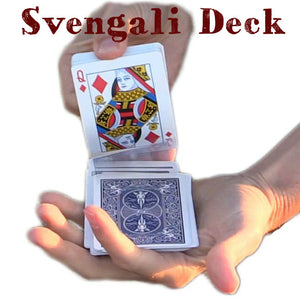 Svengali Deck - Bicycle Standard Poker (E-Z)