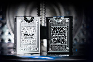 Star Wars Light Side + Dark Side Silver Edition Playing Cards by theory11 PRE-ORDER
