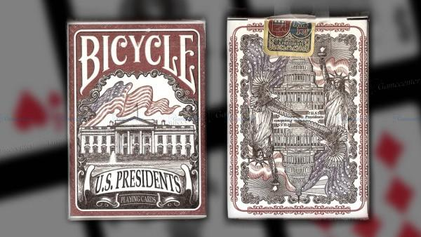 U.S. Presidents Playing Cards