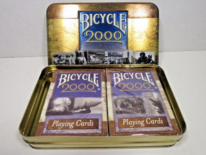 Bicycle 2000 Ltd Ed Collector's Tin