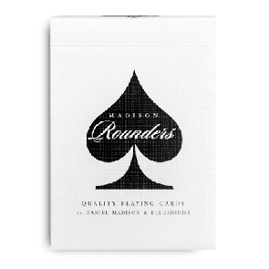 Black Rounders Playing Cards