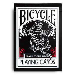 Black Tiger Playing Cards by Ellusionist