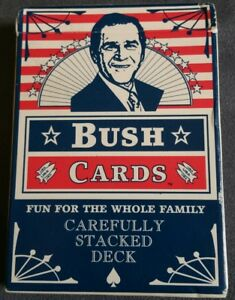 George W. Bush Deck of Playing Cards- RARE