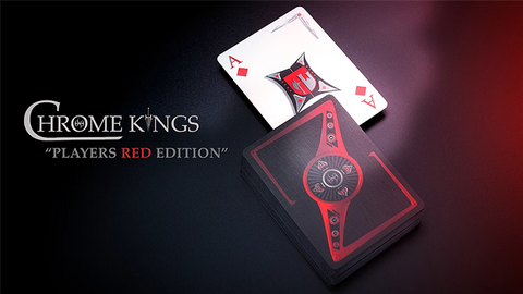 Chrome Kings Carbon Edition Playing Cards Deck