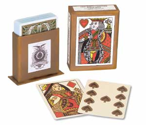 Civil War Illuminated Playing Cards USGS
