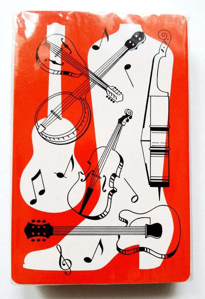 Rare Vintage Country Music Playing Cards 1970