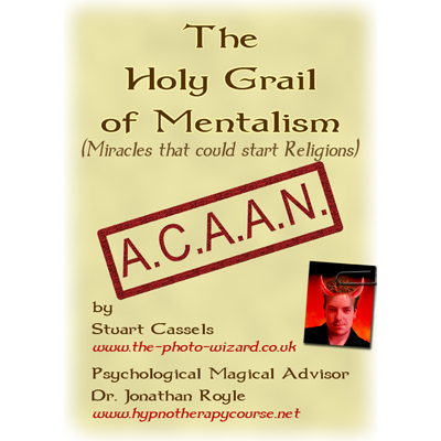 Holy Grail Mentalism by Stuart Cassels and Jonathan Royle - ebook DOWNLOAD