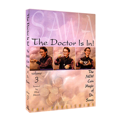 The Doctor Is In - The New Coin Magic of Dr. Sawa Vol 3 video DOWNLOAD