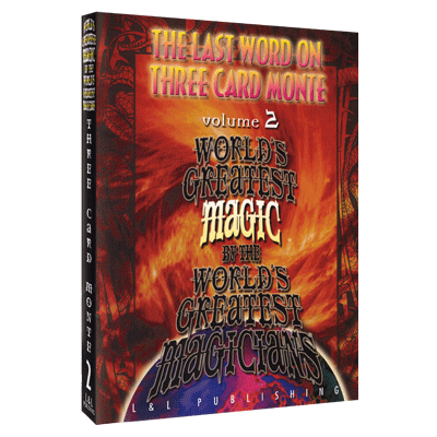 The Last Word on Three Card Monte Vol. 2 (World's Greatest Magic) by L&L Publishing video DOWNLOAD