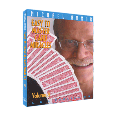 Easy To Master Card Miracles Volume 8 by Michael Ammar video DOWNLOAD