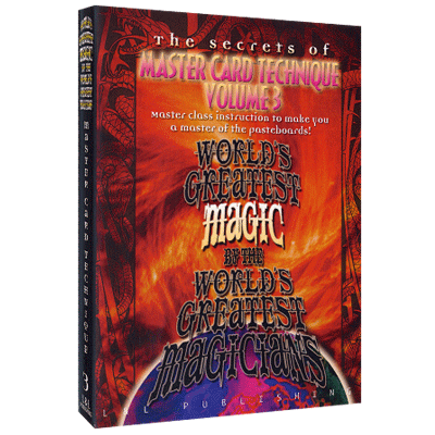 Master Card Technique Volume 3 (World's Greatest Magic) video DOWNLOAD