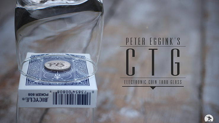 CTG - Electronic Coin Thru Glass by Peter Eggink PRE-ORDER