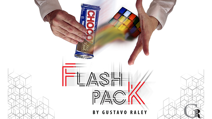 FLASH PACK Candy Bar To Rubik's Cube by Gustavo Raley