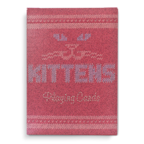 Kittens Playing Cards