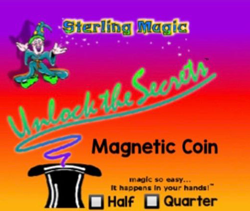 Magnetic Coin by Mak Magic