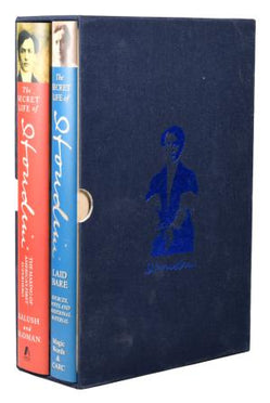 The SECRET LIFE of HOUDINI, 2 books both Signed limited editions in slipcase