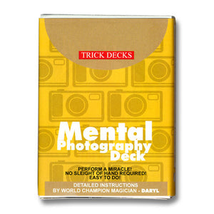 Mental Photography Deck (Red)