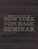 New York Coin Magic Seminar DvD Volume 13