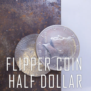 Gravity Flipper Coin- Half Dollar