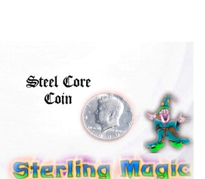 Steel Core Coin by Mak Magic