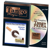 Cigarette Through Coin by Tango