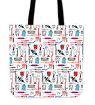 Dental Tools Pattern Tote Bag