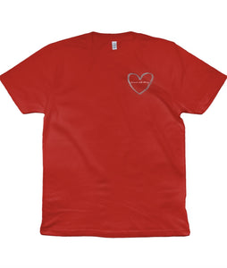 """Forever and Always"" Embroidered Charity T-Shirt"