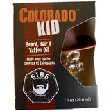 Colorado Kid Beard, Hair & Tattoo Oil in Glass