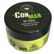 Load image into Gallery viewer, Con Man Hair Pudding -  Available in 2 sizes:  7.5oz. & 19oz.