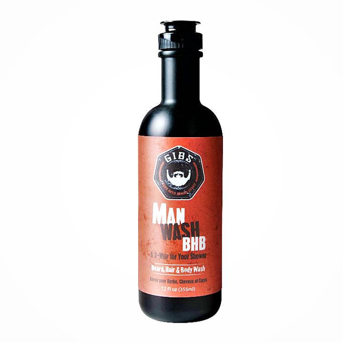 Man Wash BHB (Beard, Hair & Body)- 12oz