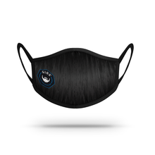 Load image into Gallery viewer, Mask -  Black with BLUE GIBS LOGO