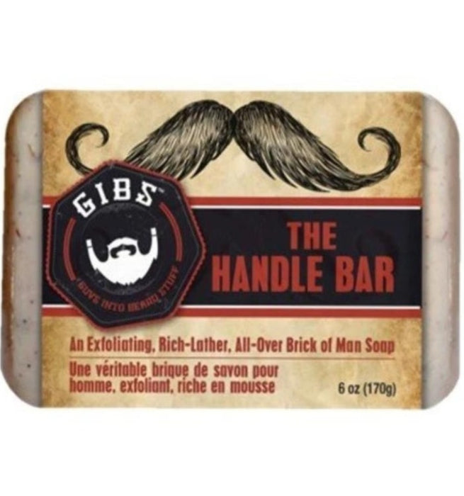 The Handlebar (Exfoliating Brick of Man Soap)