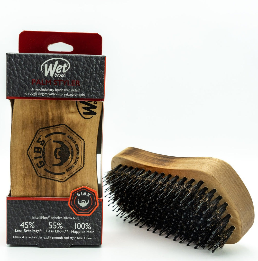 GIBS Wooden Palm Brush