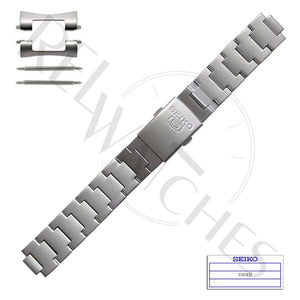 SEIKO 3304JZ 18mm Stainless Steel Watch Band