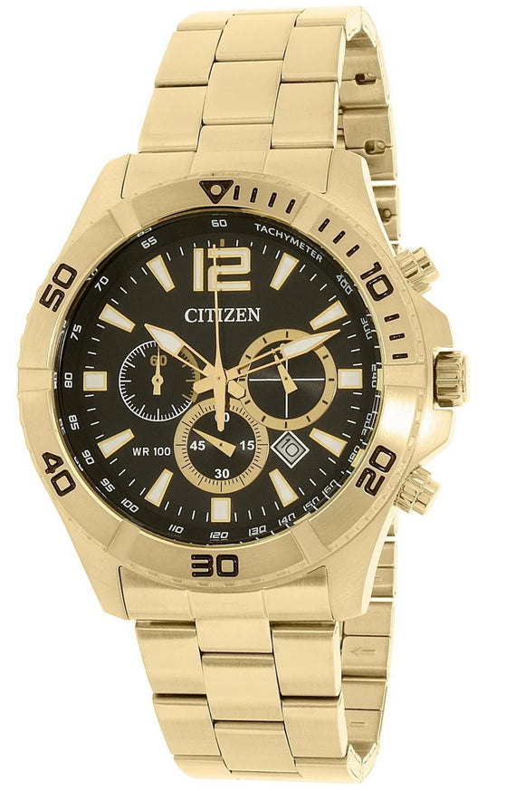 Citizen Quartz Tachymeter Chronograph - AN8122-51E