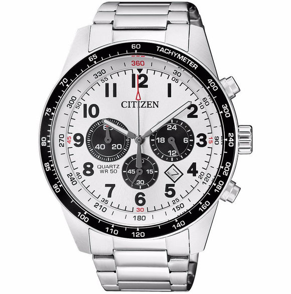 Citizen Quartz Tachymeter Chronograph - AN8160-52A