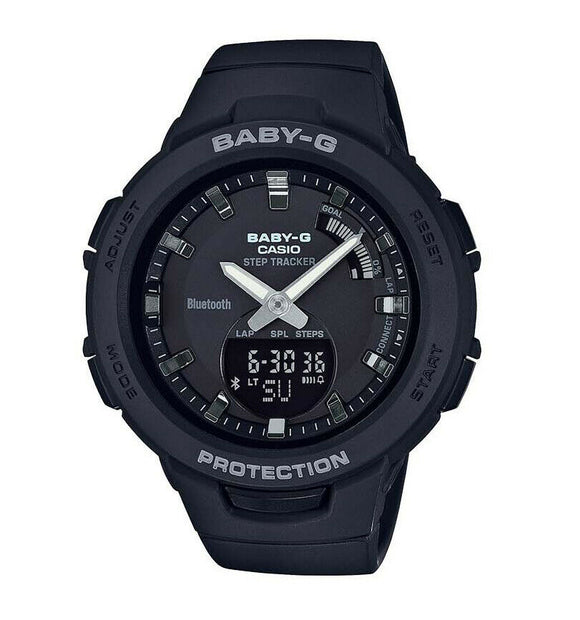 Casio BABY-G G-Squad Bluetooth Watch - BSAB100-1A