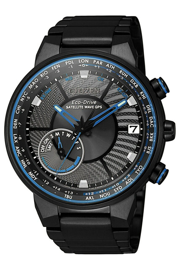 Citizen Satellite Wave Eco-Drive Watch - CC3078-81E