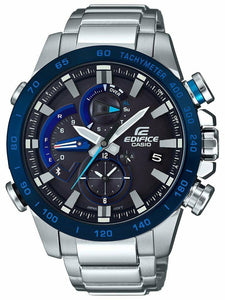 Casio EDIFICE Smartphone Link Solar Power Watch - EQB800DB-1A