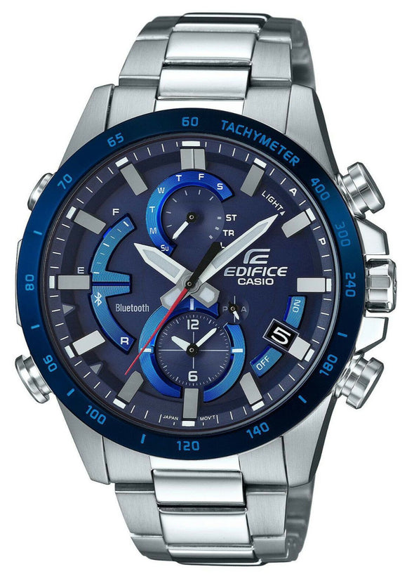 Casio EDIFICE Smartphone Link Solar Power Watch - EQB900DB-2A