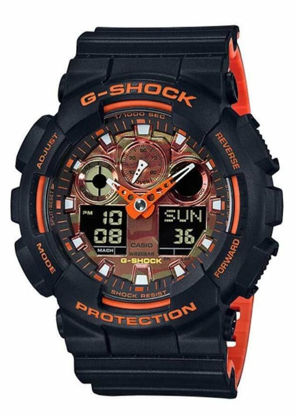 Casio G-SHOCK XL Standard Watch - GA100BR-1A