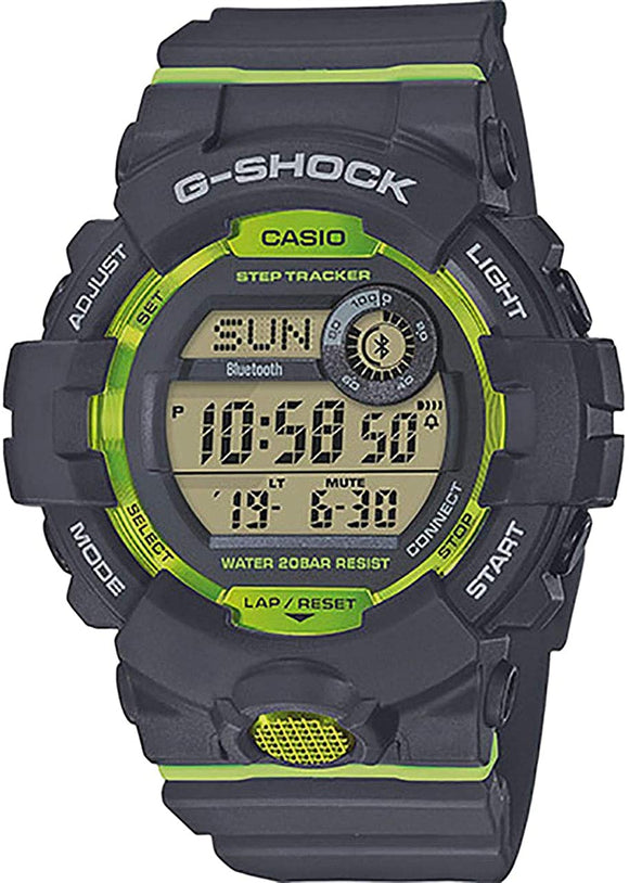 Casio G-SHOCK G-Squad Bluetooth Step Tracker Watch - GBD800-8