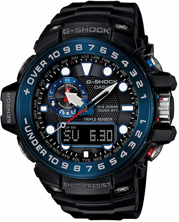 Casio G-SHOCK GulfMaster Watch - GWN1000B-1B